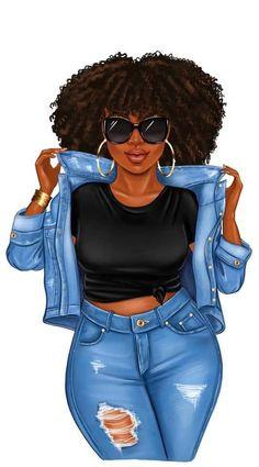 Black Love Art, Black Girl Art, Black Is Beautiful, Black Girl Magic, Black Art Painting, Black Artwork, Black Girl Quotes, Afrique Art, Natural Hair Art