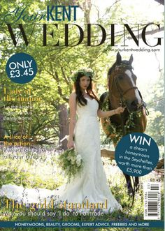 Featured in March's issue of Kent Wedding Magazine