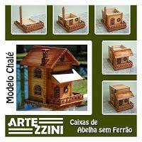 ARTEZZINI - Arte em Madeira: Caixas para ASF