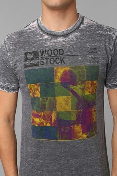 Woodstock Burnout Tee #urbanoutfitters