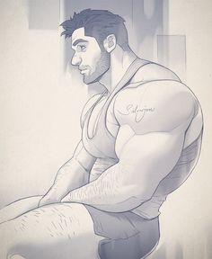 Hunk of the week #1 by Silverjow