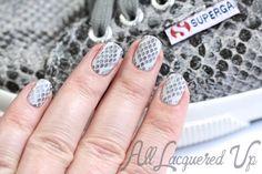 Snakeskin Stamping Nail Art
