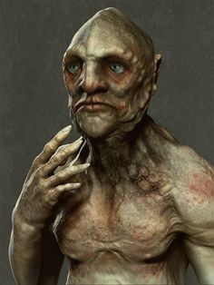 ImagineFX - MYFX Challenge #319 - The Innsmouth Look - WIPS