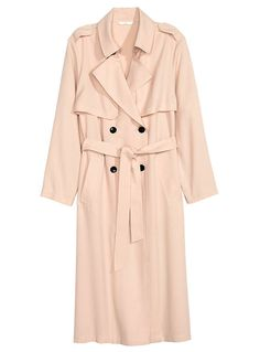 9 Trench Coats to Buy Now  - H&M - from InStyle.com