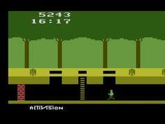 Playing Pitfall on the Atari 2600. Who needs Gameboy anyway.