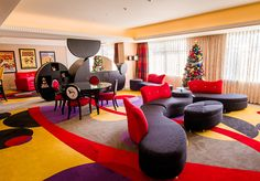 Hotel Disneyland Paris, Bedroom Themes, Bedroom Decor, Mickey Mouse Room, Mickey House, Themed Hotel Rooms, Disney Tourist Blog, Disney Parks, Walt Disney