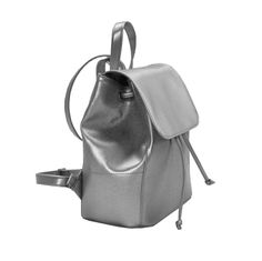 Excited to share the latest addition to my shop: Leather backpack, Women backpack, backp. Silver Backpacks, Cute Bags, Leather Backpack, Women's Backpack, Mini, My Etsy Shop, Purses, Trending Outfits, Unique Jewelry