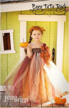 Autumn Tutu Dress