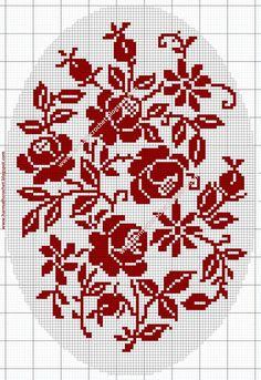 123 Cross Stitch, Cross Stitch Borders, Modern Cross Stitch Patterns, Cross Stitch Flowers, Cross Stitch Designs, Cross Stitching, Cross Stitch Embroidery, Embroidery Patterns, Crochet Dog Patterns