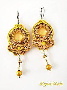 Personalizované motýliky (s monogramom) / LujzaMarko - SAShE.sk - Handmade Doplnky Swarovski, Drop Earrings, Jewelry, Fashion, Moda, Jewlery, Jewerly, Fashion Styles, Schmuck