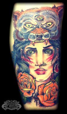 Gypsy Girl Tattoo Designs