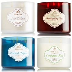 Bath and Body Works Winter 2014 Candles Launch