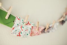Advent Calendar Envelopes. Some ideas for inside each envelope - watch a Christmas movie together, read a scripture about the birth of our Saviour, read a Christmas book, decorate Christmas cookies, sing a Christmas sing, make a gingerbread house.