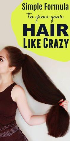 Hair Remedies For Growth, Hair Growth Treatment, Healthy Hair Remedies, Spot Treatment, Acne Treatment, Hair Growing Tips, Grow Hair, Grow Long Hair Fast, Grow Thicker Hair