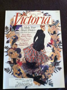 Victoria magazine 1992 by KaelysKountryKorner on Etsy, $5.00