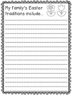 Easter Writing Prompts - 15 fun prompts for 3rd-5th graders. Use at a writing center, for morning work, or as emergency sub plans. Then hang for a festive holiday bulletin board or make a class book.