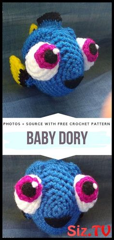 Cute Fish Amigurumi Free Crochet Patterns - - Cute Fish Amigurumi is today`s collection of patterns for these tiny creatures. Dive deep into your yarn stash for colourful scraps and crochet your own. Disney Crochet Patterns, Crochet Disney, Crochet Amigurumi Free Patterns, Crochet Animal Patterns, Crochet Animals, Baby Patterns, Crochet Baby Toys, Cute Crochet, Crochet Crafts