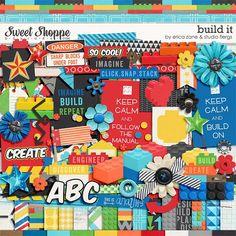 Build It by Erica Zane & Studio Flergs, Sweet Shoppe Designs