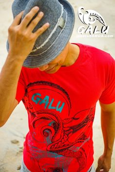 Janet's - Galu T-Shirt - OctoRay Red, 29.90 AUD (http://www.janetssamoa.com/galu-t-shirt-octoray-red/) GALU Samoa presents OCTORAY Red. The Octopus (fe'e) and the Stingray (Fai) were revered in Samoan Mythology and the Octopus was even held in legend to have brought about the creation of the Samoan Islands. This designs depicts the two creatures dancing in union in the Pacific Waters.