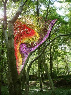 Paysages d'Artifice - interventions éphémères dans le paysage