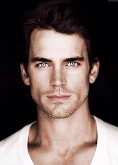 Matt Bomer, I could get lost in those eyes