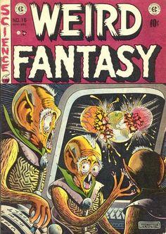 Cover for Weird Fantasy (1951 series) #16