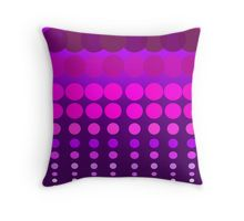 Polka Dots Madness Pink/Purple Throw Pillow Purple Throw Pillows, Pink Purple, Madness, Folk Art, Living Spaces, Polka Dots, Texture, Blanket, Color