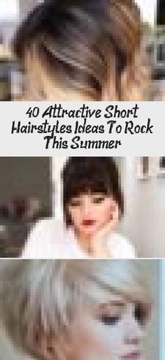 40+ Attractive Short Hairstyles Ideas To Rock This Summer #summerhairstylesWithScarves #summerhairstylesForBlackWomen #summerhairstylesWithExtensions #summerhairstylesIdeas #summerhairstylesTutorials