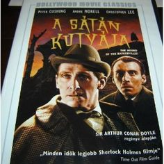 The Hound of the Baskervilles (1959)/ A Satan Kutyaja / REGION 2 PAL DVD / Audio: English, Hungarian / Subtitle: Hungarian / Actors: Peter Cushing, André Morell, Christopher Lee, Marla Landi, David Oxley Francy Fair / Director: Terence Fisher /Writers: Arthur Conan Doyle, Peter Bryan / Playtime: 83 minutes $12