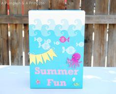 Summer activity box - full of lots of good ideas