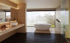 Perhaps more than any other room in the house, the bathroom is a private retreat. It is a place where we perform important daily rituals and where we take the t