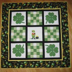 a GREAT Irish Quilt finish!