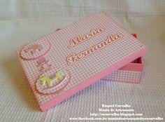 Caixa de mdf para nenê personalizada