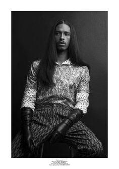 Jay Kirton by Christian Rinke   Client Magazine #13 Styled by Fernando Torres