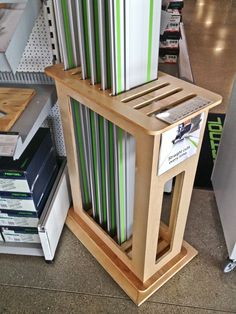 "Festool Rail Holder! I suppose I could make one for my Makita, but I can't store my 112"" rail vertically."