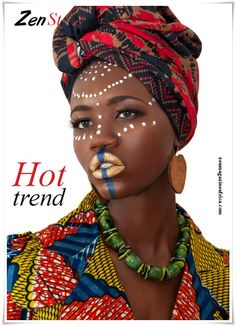 ZEN MAGAZINE AFRICA: Beautiful African Prints In A Pictorial ...