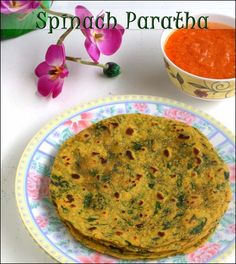 Spinach-Paratha