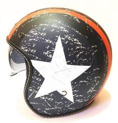 Dual Visor Cool Dude Orange Star Helmet 3a57c9e1a