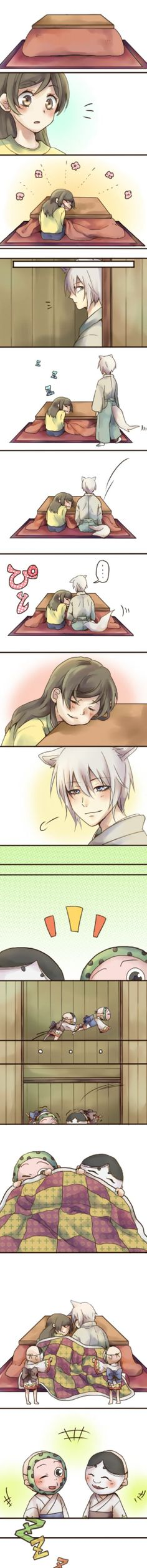 Kamisama hajimemashita- TOMOE X NANAMI    -This is so freaking adorable!