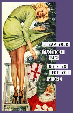 New funny christmas vintage retro humor Ideas Retro Christmas, Vintage Holiday, Christmas Humor, Holiday Fun, Naughty Christmas, Christmas Hanukkah, Christmas Night, Christmas Greetings, Festive