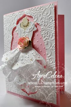 All Dressed Up Wedding Card  The best I've ever seen