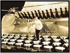 Busby Berkeley - The TYPEWRITER Dance - Too Marvelous For Words - Johnny Mercer - Large Format Print From A Studio Orginal - Legs Legs Legs