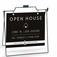 Our Welcome Signs are so cute, we had to turn them into yard signs too! www.allthingsrealestatestore.com