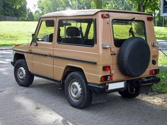 The Mercedes-Benz G-Class, sometimes called G-Wagen , is a mid-size four-wheel drive luxury SUV manufactured by Magna Steyr in Austria and sold by Mercedes-Benz. In certain markets, it has been sold under the Puch name as Puch G. Mercedes G Wagen, Mercedes Benz Unimog, Mercedes Benz G Class, Classic Mercedes, G Wagon, Repair Manuals, Motor Car, Dream Cars, 4x4