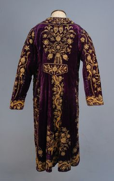 Coat Late 19th Century to Early 20th Century Turkey