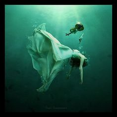 underwater drowning fantasy - Google Search