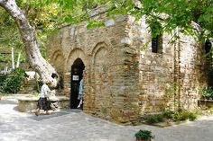 The Virgin Mary's house is in Selcuk, Turkey. It is believed to be her last resting place #landmarks