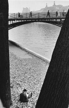 Pont des Arts, Paris, 1963, Kertész André                                                                                                                                                                                 Plus