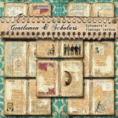 Gentlemen & Scholars - Lined Journal Paper