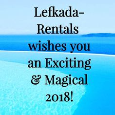 #happynewyear from our #team! We #wish you #love  #joy #hapiness #goodhealth & #wealth ! . #happy #new #year #prosperous #fruitful #2018 #visitGreece #2018goals #lefkada #Vacation #Holiday